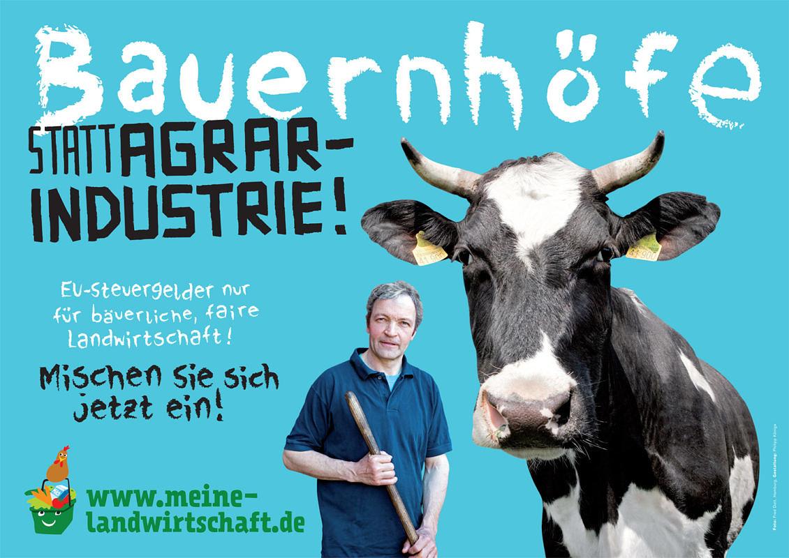 Kampagne: Mehr Demokratie in der Landwirtschaft