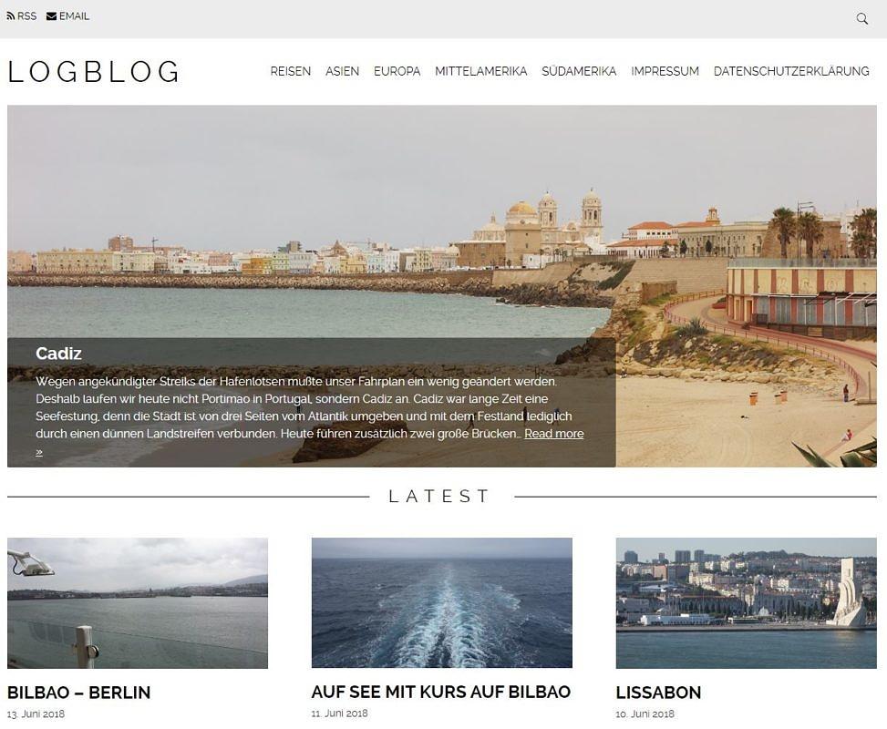 LogBlog – Reiseblog