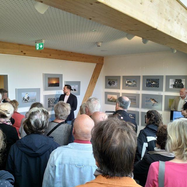"""Ausstellung """"Kalenderbirds"""" im Wattenmeer Besucherzentrum Cuxhaven"""
