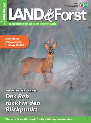 """""""Mein"""" Bock als Titelfoto bei der LAND&Forst"""